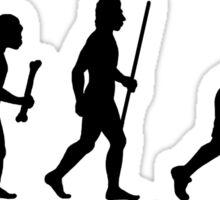 Field Hockey Evolution Sticker