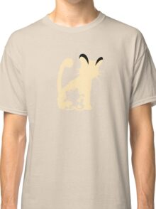 Meowth Persian Evolution Classic T-Shirt