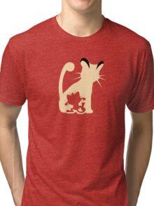 Meowth Persian Evolution Tri-blend T-Shirt