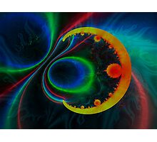 colorful magnetic field Photographic Print
