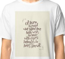 Sonnet 23 Classic T-Shirt