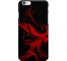 Red skull Case 1 iPhone Case/Skin