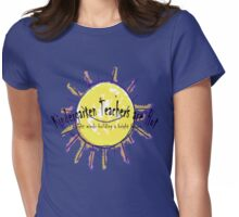 Kindergarten Teachers are Hot Womens Fitted T-Shirt