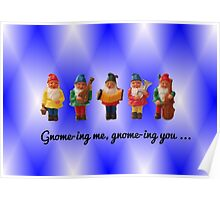 Gnome-ing me, gnome-ing you... Poster
