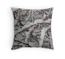 Christmas Card No.12 Throw Pillow