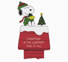 Snoopy Christmas Kids Clothes