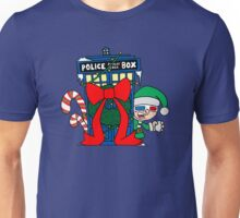 Snowball Fight with the Doctor! Unisex T-Shirt