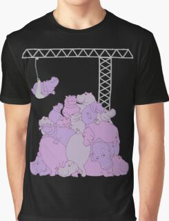 Hippopotapile - the more the merrier! Graphic T-Shirt