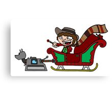 Timelord Santa! Canvas Print