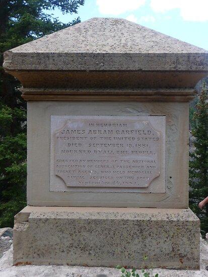 President Garfield Monument by nealbarnett