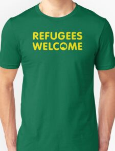 Refugees Welcome Australia (Yellow) T-Shirt