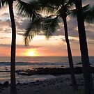Hawaiian Coastline Sunset - Kona, Hawaii by Brian Harig