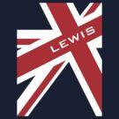 Lewis Hamilton - Union Jack by Tom Clancy