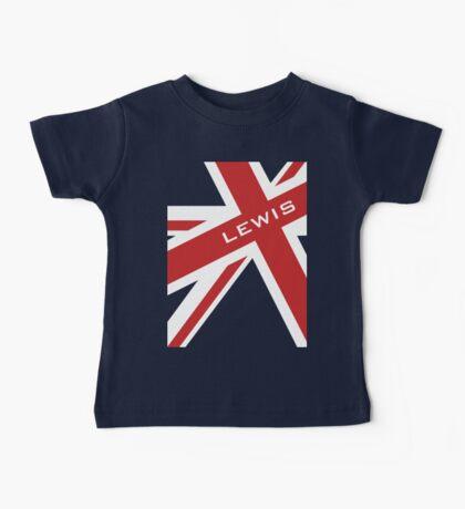 Lewis Hamilton - Union Jack Baby Tee