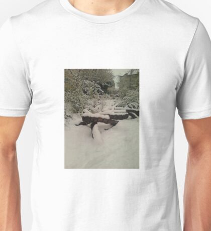 Snowy Steps Unisex T-Shirt