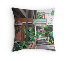 Cactus Cafe Throw Pillow