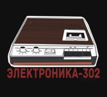 Elektronika-302 Soviet Tape Player T-Shirt
