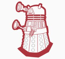 Red is dead! EXTERMINATE!!! Kids Tee
