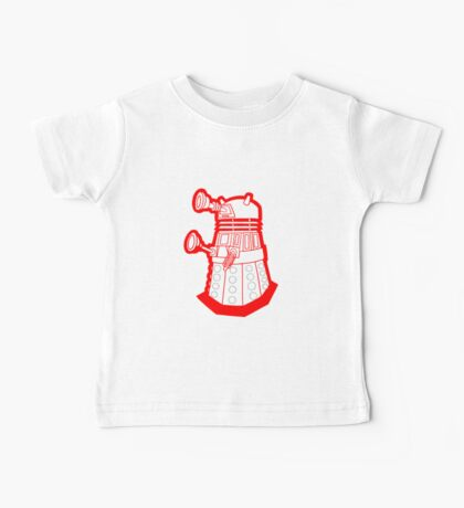 Red is dead! EXTERMINATE!!! Baby Tee