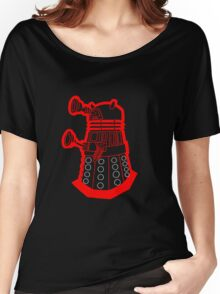 Red is dead! EXTERMINATE!!! Women's Relaxed Fit T-Shirt
