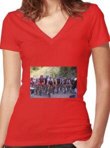 Peloton 2012 Women's Fitted V-Neck T-Shirt