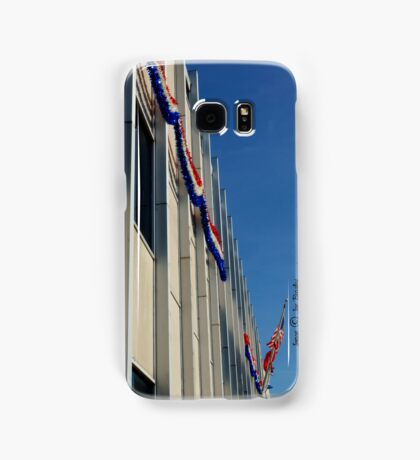 Christmas Flags Samsung Galaxy Case/Skin