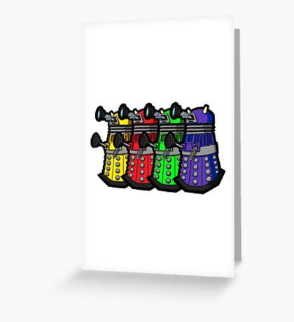 Beware the Daleks! Greeting Card