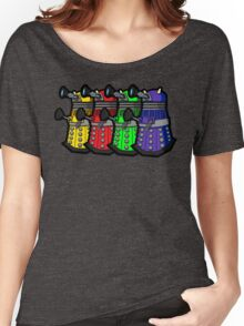 Beware the Daleks! Women's Relaxed Fit T-Shirt