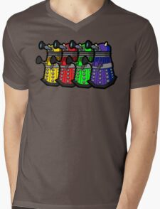 Beware the Daleks! Mens V-Neck T-Shirt