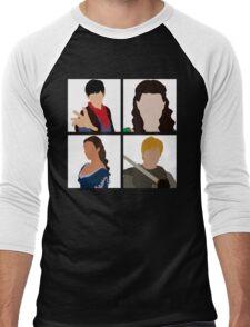 BBC Merlin Men's Baseball ¾ T-Shirt