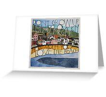 Sketch of Lyme Bay Greeting Card