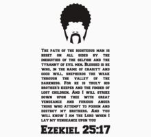 Ezekiel 25 : 17 (PULP FICTION) by karlangas