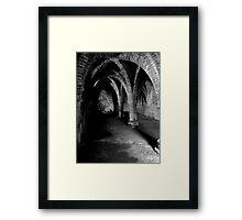 Gothic arches Blakeney Norfolk. Framed Print