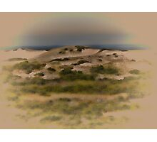 Cape Cod sand dunes Photographic Print