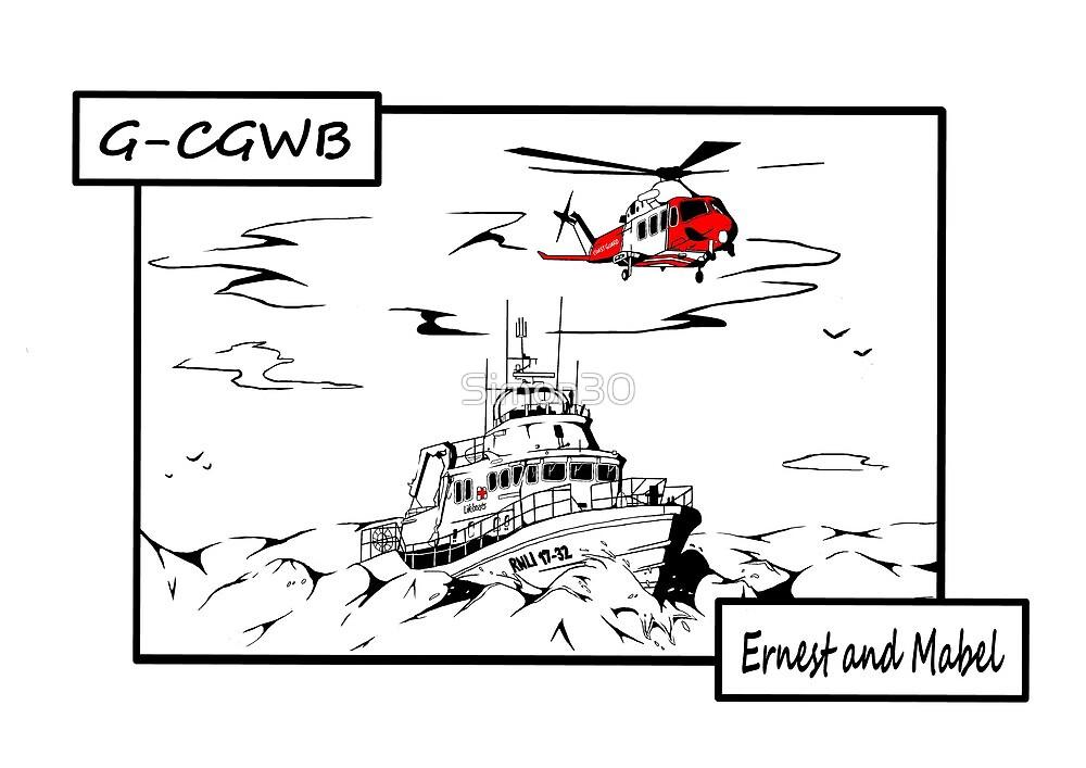 Weymouth Lifeboat by Simon30