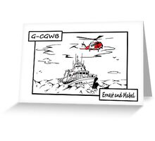 Weymouth Lifeboat Greeting Card