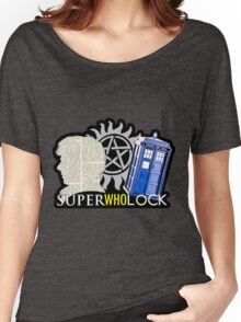 SuperWhoLock - Crossover MegaVerse Women's Relaxed Fit T-Shirt