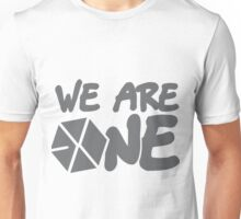 EXO - We Are One! (Black Font) Unisex T-Shirt