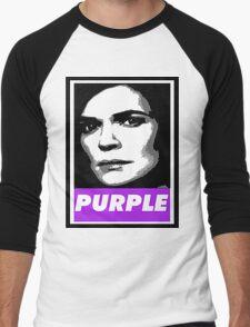 Marie's Wearing Purple Again Men's Baseball ¾ T-Shirt