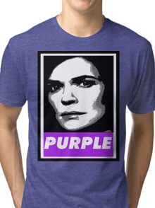 Marie's Wearing Purple Again Tri-blend T-Shirt