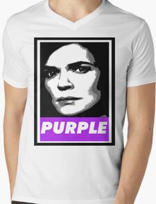 Marie's Wearing Purple Again Mens V-Neck T-Shirt