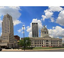 Downtown Fort Wayne, Indiana by John McGauley
