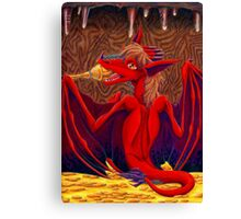 The Red Hatchling Canvas Print
