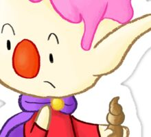 Ice Cream Elf Sticker