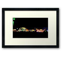 Neon Dreams  Framed Print