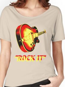 rock t-shirt Women's Relaxed Fit T-Shirt