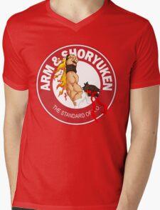 Arm & Shoryuken. The Standard of K.O. - Ryu Mens V-Neck T-Shirt