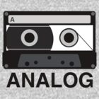 ANALOG Cassette by 20thCenturyBoy