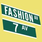Fashion & 7th Ave by 20thCenturyBoy