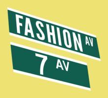 Fashion & 7th Ave by 20thCenturyBoy